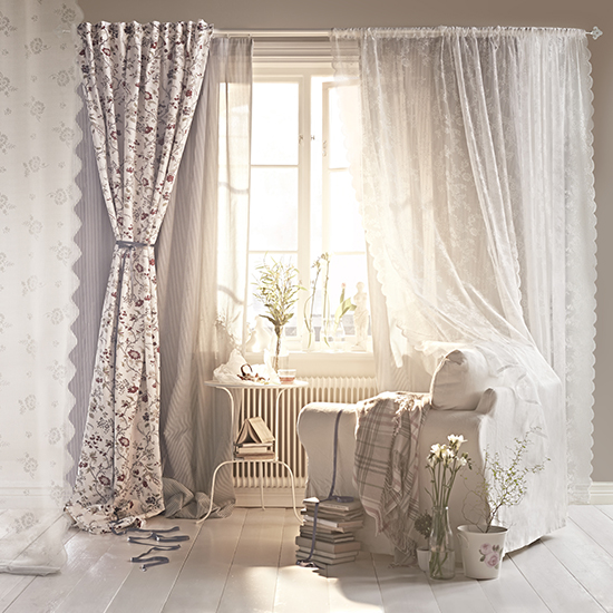 This romantic room is certainly the style of our friend.