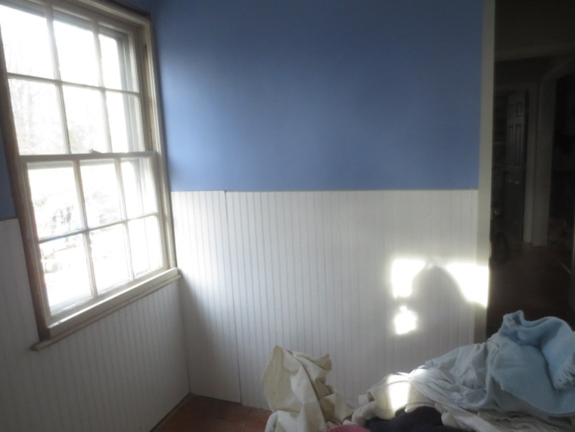 We saved the original window trim to finish the window which needed to be finished before the chair rail.