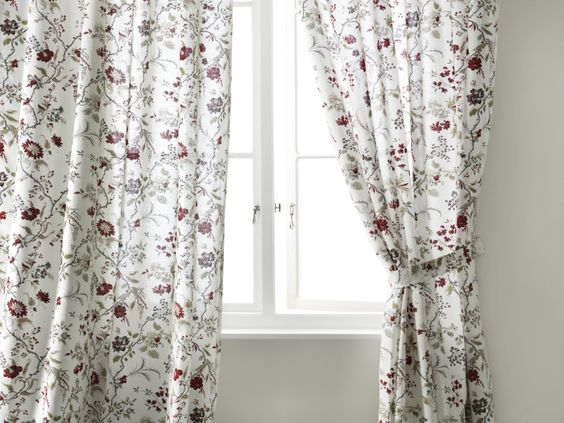 The Ingmarie curtains will make charming shades peeking behind lace curtains.