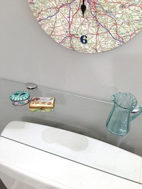 Shelf décor.