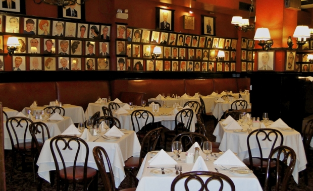 Sardi's is famous for its caricature-covered walls.