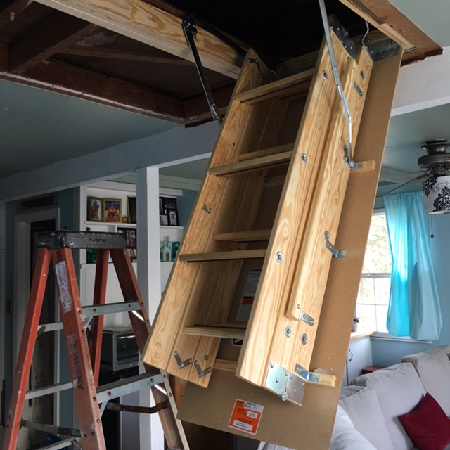 Disappearing Attic Stairs Let S Face The Music